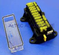 16 way FUSEBOX for Blade fuses         <br>ALT/FBB16U-01 <br> MTA 01.00655
